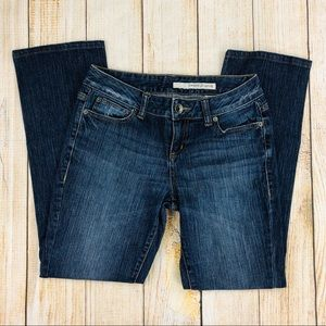 DKNY Bootcut Factory Distressed Jeans